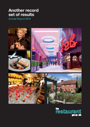 Restaurant Group Plc annual report 2014