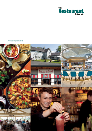 Restaurant Group Plc annual report 2016