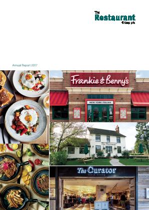 Restaurant Group Plc annual report 2017