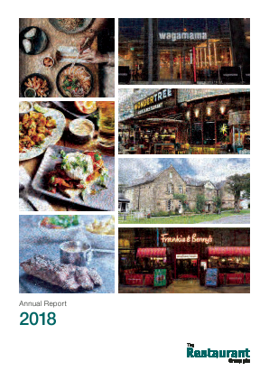 Restaurant Group Plc annual report 2018