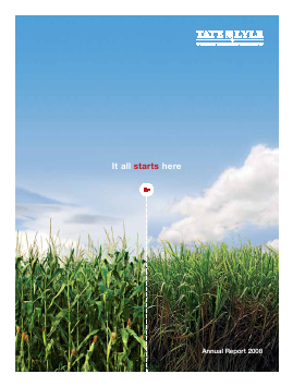 Tate & Lyle annual report 2008