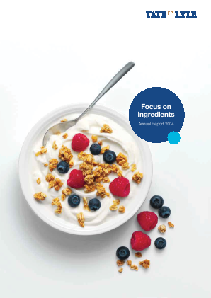 Tate & Lyle annual report 2014