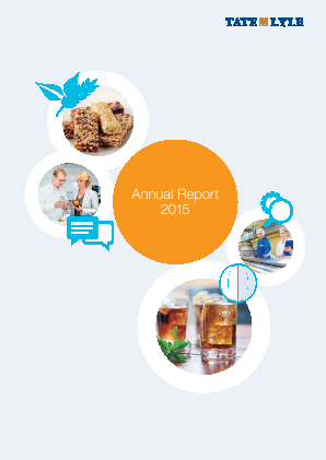 Tate & Lyle annual report 2015