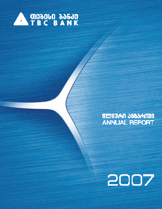 TBC Bank JSC annual report 2007