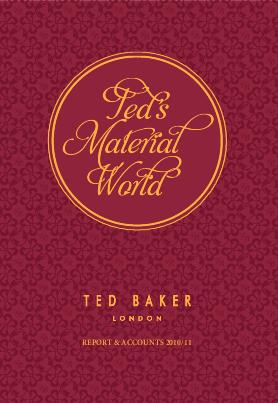 Ted Baker annual report 2011