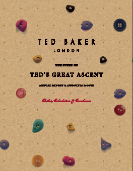 Ted Baker annual report 2015