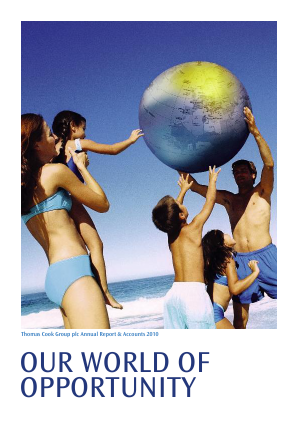 Thomas Cook Group Plc annual report 2010