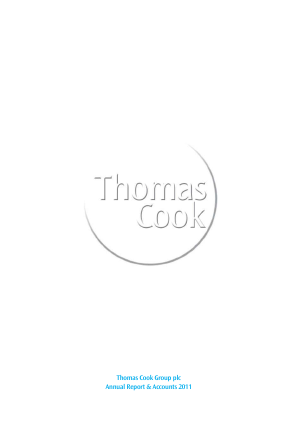 Thomas Cook Group Plc annual report 2011