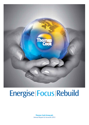 Thomas Cook Group Plc annual report 2012