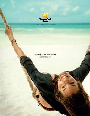 Thomas Cook Group Plc annual report 2015