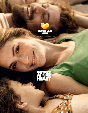 Thomas Cook Group Plc annual report 2016