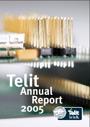 Telit Communications Plc annual report 2004