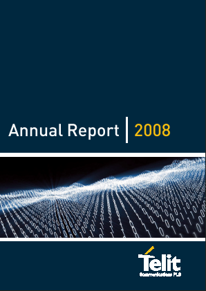 Telit Communications Plc annual report 2008
