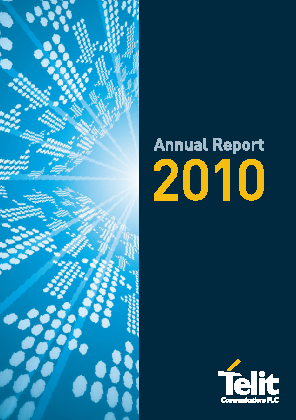Telit Communications Plc annual report 2010