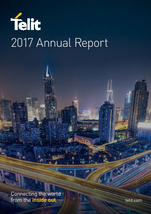 Telit Communications Plc annual report 2017