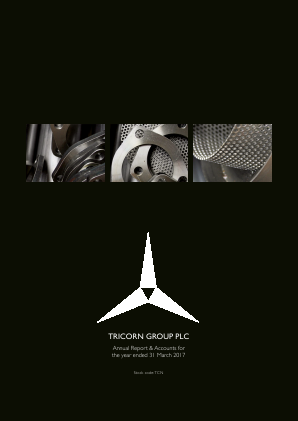 Tricorn Group annual report 2017