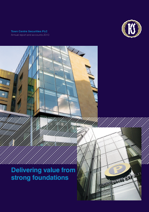 Town Centre Securities annual report 2010