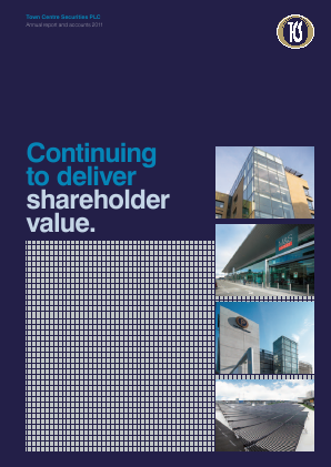 Town Centre Securities annual report 2011