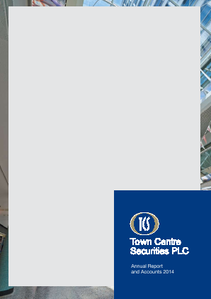 Town Centre Securities annual report 2014