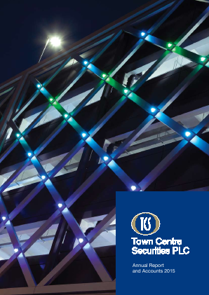 Town Centre Securities annual report 2015