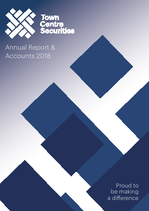 Town Centre Securities annual report 2018