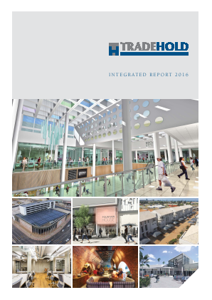 Tradehold annual report 2016