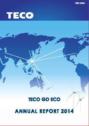 Teco Electric & Machinery Co annual report 2014