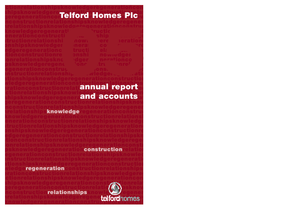 Telford Homes annual report 2005