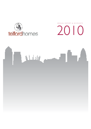 Telford Homes annual report 2010