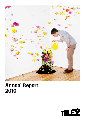 Tele2 annual report 2010