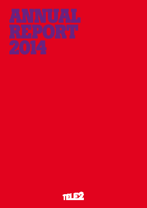 Tele2 annual report 2014
