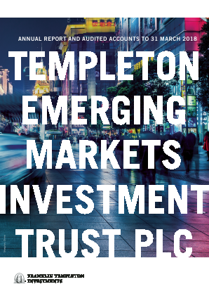 Templeton Emerging Markets Investment Trust annual report 2018