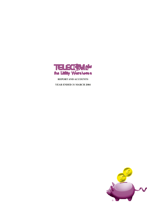 Telecom Plus annual report 2004
