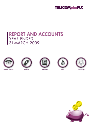 Telecom Plus annual report 2009