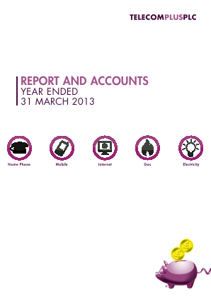 Telecom Plus annual report 2013