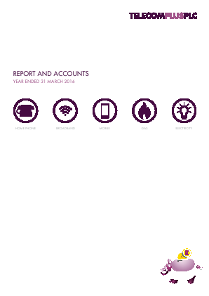 Telecom Plus annual report 2016