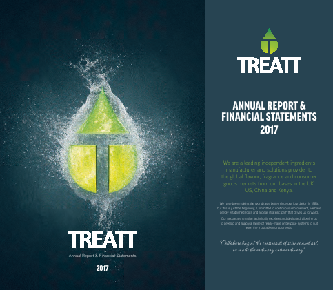 Treatt annual report 2017