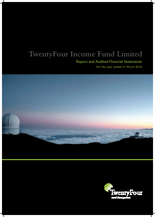 Twentyfour Income Fund annual report 2016