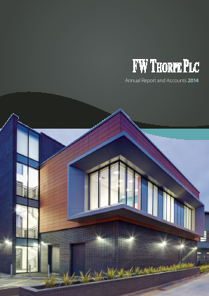Thorpe(F.W.) annual report 2014
