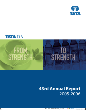 Tata Global Beverages annual report 2006