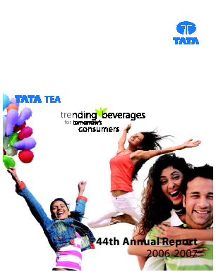 Tata Global Beverages annual report 2007