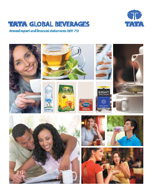 Tata Global Beverages annual report 2012