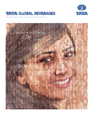 Tata Global Beverages annual report 2013