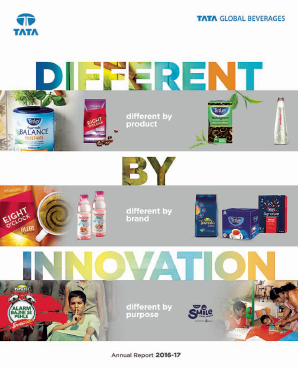 Tata Global Beverages annual report 2017