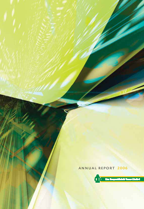 Tongaat Hulett annual report 2006