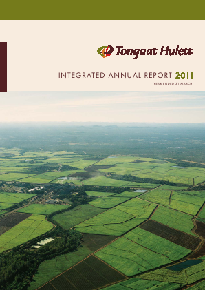 Tongaat Hulett annual report 2011