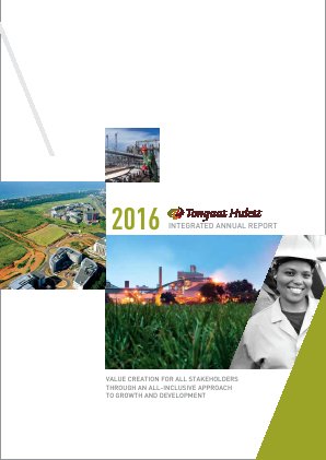 Tongaat Hulett annual report 2016