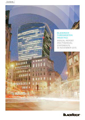 Blackrock Throgmorton Trust Plc annual report 2015