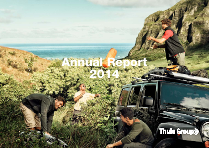 Thule Group annual report 2014