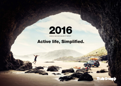 Thule Group annual report 2016